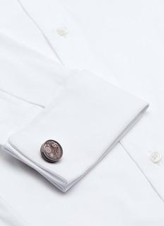 TateossianVintage skeleton gear cufflinks