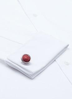Tateossian Strawberry top shell cufflinks