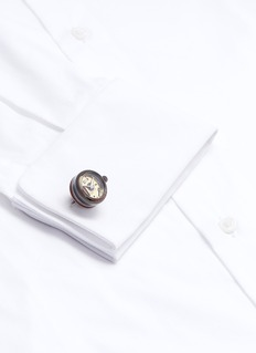 Tateossian 'Panorama' Quartz watch cufflinks