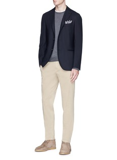 Boglioli 'K Jacket' virgin wool soft blazer