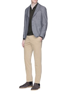 Boglioli Cotton twill chinos