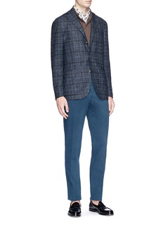 Boglioli 'K Jacket' check plaid soft blazer
