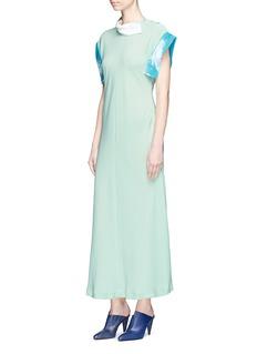 TOGA ARCHIVES Contrast trim georgette dress