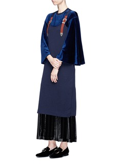 TOGA ARCHIVES Velour flared top