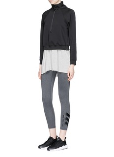 KORAL 'Order' drawstring mock neck sweatshirt