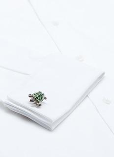 Deakin & Francis Turtle sterling silver cufflinks