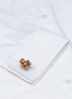 Deakin & Francis  Teddy bear sterling silver cufflinks