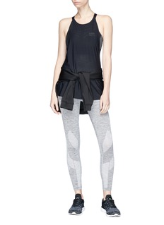 Lndr 'Six Eight' circular knit cropped performance leggings