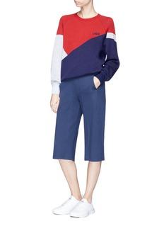 Lndr 'Waterboy' colourblock Merino wool sweater