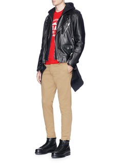 Dsquared2 Stretch twill skinny hockney pants