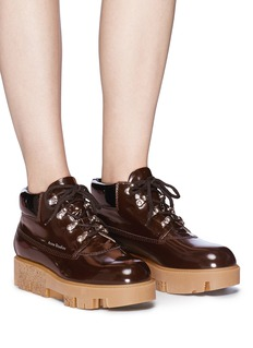 Acne Studios 'Tinne Brush Off' leather hiker boots