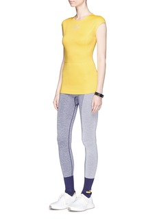 Adidas By Stella Mccartney 'Yoga' colourblock climalite® full length performance tights