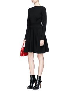 Alaïa 'Skate' knit dress