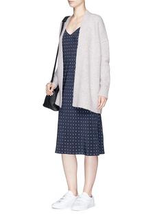 VinceDot print silk camisole dress