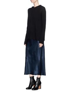 Vince Satin sleeveless dress