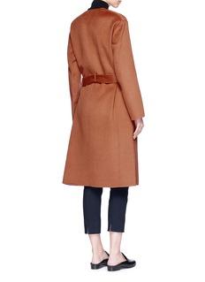 Vince Belted reversible wool-cashmere melton coat