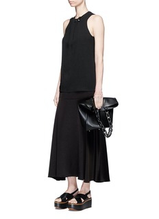 Proenza Schouler Bar pin sleeveless crepe top