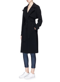 Theory 'Oaklane' belted cady trench coat
