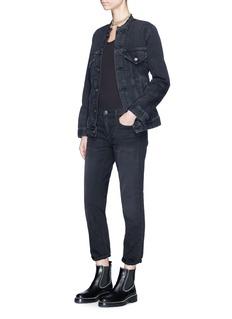 T By Alexander Wang Sleeveless rib knit bodysuit