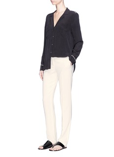 Theory 'Hartsdale B' slim fit crepe pants