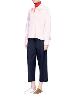 Acne Studios 'Britta' oversized cotton poplin shirt