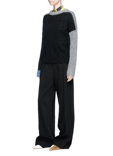 Acne Studios 'Rafa' colourblock brushed sweater