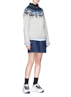 Acne Studios 'Sirus Icelandic' Merino wool sweater