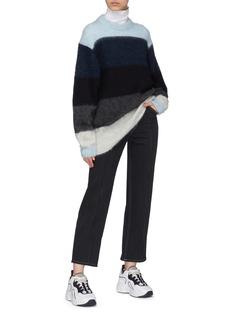 Acne Studios 'Albah' colourblock oversized sweater