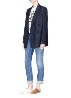 Acne Studios 'Jara' pinstripe double breasted blazer