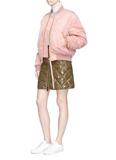 Acne Studios 'Clea' satin bomber jacket