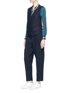 Acne Studios 'Jelena' pinstripe wool suiting gilet
