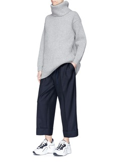 Acne Studios 'Disa' oversized rib knit sweater