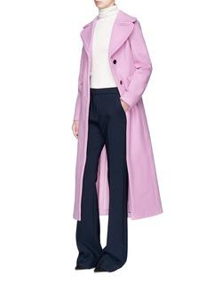 Valentino Virgin wool melton long coat