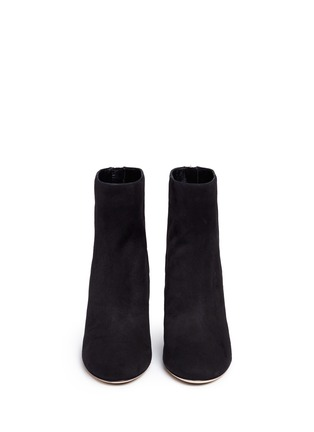 Front View - Click To Enlarge - Jimmy Choo - 'Duke 85' suede ankle boots