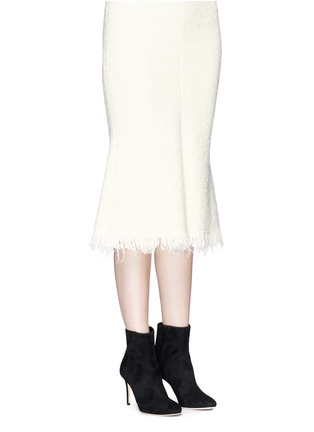 Figure View - Click To Enlarge - Jimmy Choo - 'Duke 85' suede ankle boots