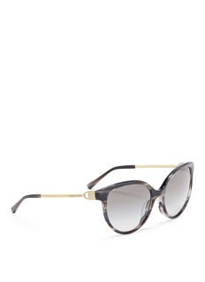 Michael Kors 'Abi' streak effect acetate cat eye sunglasses