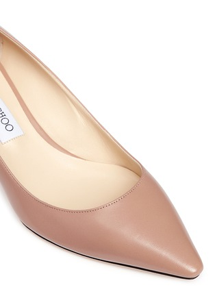 Detail View - Click To Enlarge - Jimmy Choo - 'Romy 40' kid leather pumps