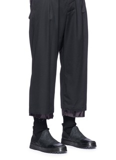 Marsèll 'Cassatona' leather sock boots
