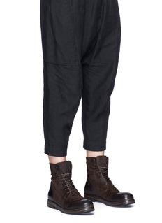 Marsèll 'Zucca Zeppa' suede combat boots