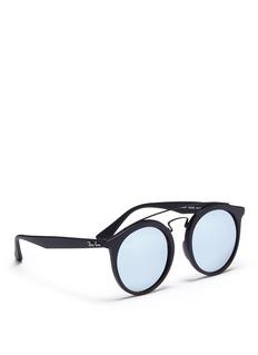 Ray-Ban 'RB4256 Gatsby I' double bridge round acetate sunglasses