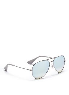 Ray-Ban'RB3558' mirror aviator sunglasses
