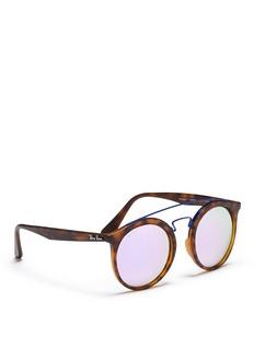 Ray-Ban'RB4256 Gatsby I' double bridge round acetate sunglasses
