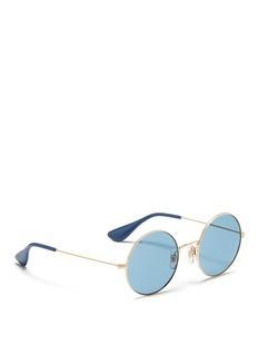 Ray-Ban'Ja-Jo' metal round sunglasses