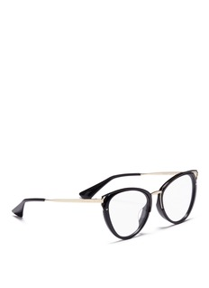 Prada Acetate cat eye optical glasses