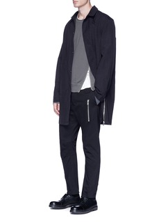 Den Im By Siki Im Asymmetric zip sweatshirt