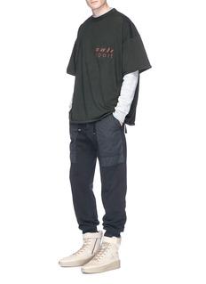 Yeezy 'Cali Sport' print oversized T-shirt