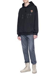 Yeezy 'Las Virgenes Unified' print hoodie