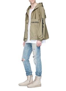 Yeezy 'Las Virgenes' print windbreaker jacket