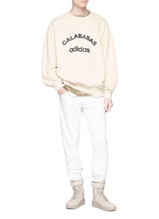 YEEZY Calabasas Adidas纯棉鱼鳞布卫衣