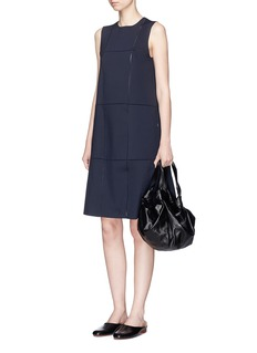 The Row 'Anji' scuba jersey dress